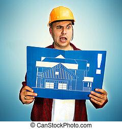 αρχιτεκτονικό σχέδιο, δομή δουλευτής