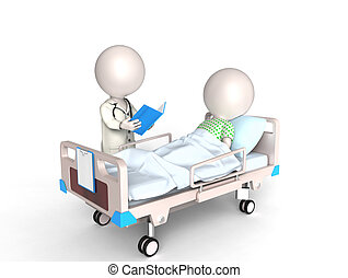 ασθενής , γιατρός
