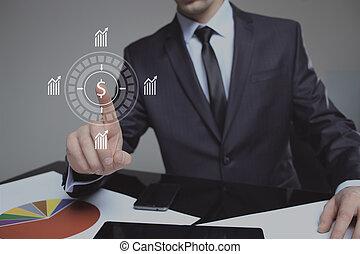 ασκώ πίεση , δολάριο αναχωρώ , ψηφιακός , επεμβαίνω , επιχειρηματίας