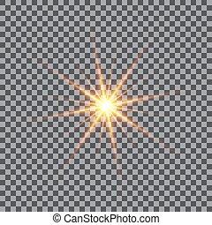 αστέρας του κινηματογράφου αναλύομαι , effect., ελαφρείς , εικόνα , μικροβιοφορέας , sparkles.