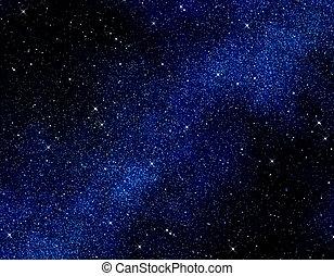 αστέρας του κινηματογράφου , μέσα , διάστημα , ή , άγνοια κλίμα