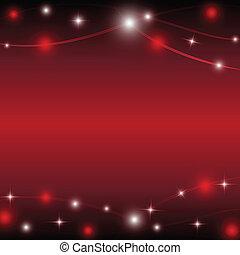 αστέρι , ελαφρείς , εικόνα , μικροβιοφορέας , φόντο , κόκκινο