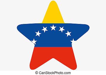 αστέρι , εξοχή , εσωτερικός , εικόνα , σημαία , βενεζουέλα