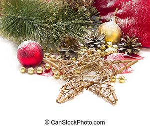αστέρι , χριστουγεννιάτικη κάρτα