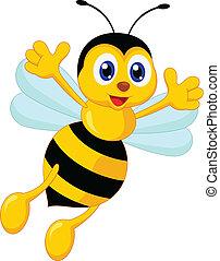 αστείος , γελοιογραφία , μέλισσα