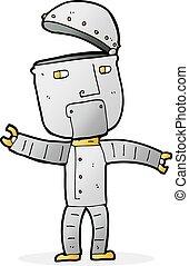 αστείος , γελοιογραφία , ρομπότ