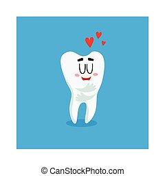 αστείος , γενική ιδέα , αγάπη , εκδήλωση , χαρακτήρας , δόντι , άσπρο , λαμπερός , οδοντιατρικός ανατροφή