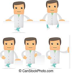 αστείος , θέτω , γελοιογραφία , γιατρός