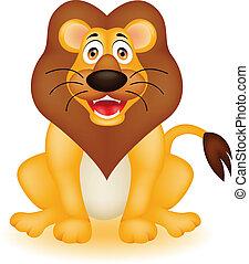 αστείος , λιοντάρι , γελοιογραφία