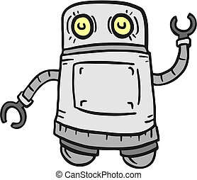 αστείος , ρομπότ