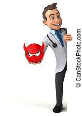 αστείο , γιατρός