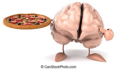 αστείο , εγκέφαλοs