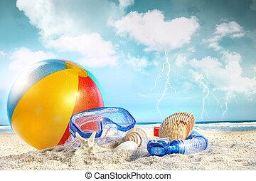 αστείο , παραλία , ημέρα