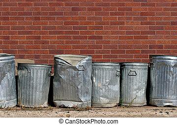 αστικός , σκουπίδια
