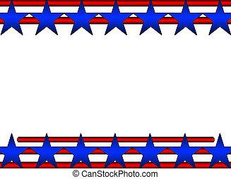 αστροποίκιλτος τρίχρωμος σημαία των ηνωμένων πολιτείων , φόντο
