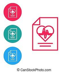 ασφάλεια , ασφάλεια , ασφάλεια , απομονωμένος , προστατεύω , υγεία , φόντο. , προστασία , ασθενής , κόκκινο , μικροβιοφορέας , protection., κύκλοs , γραμμή , άσπρο , εικόνα , buttons., concept., θέτω , απεικόνιση