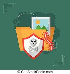 ασφάλεια , γενική ιδέα , cyber
