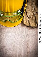 ασφάλεια , δέρμα , γάντια , κτίριο , κράνος , και ,...