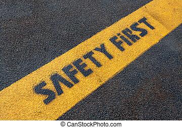 ασφάλεια , δρόμος αναχωρώ