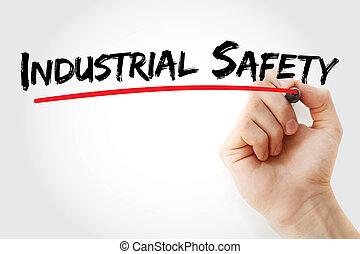 ασφάλεια , μαρκαδόρος , βιομηχανικός , εδάφιο