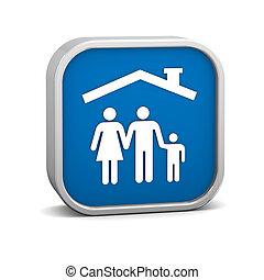 ασφάλεια , οικογένεια , σήμα