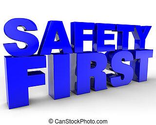 ασφάλεια, πρώτα