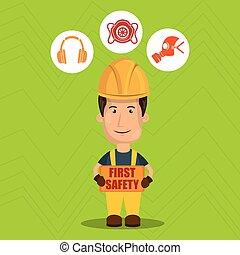 ασφάλεια 1 , εργάτης , εικόνα