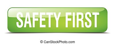 ασφάλεια 1 , πράσινο , τετράγωνο , 3d , ρεαλιστικός , απομονωμένος , ιστός , κουμπί