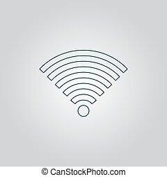 ασύρματος , σύμβολο , δίκτυο