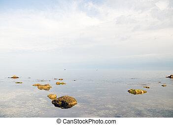 ατάραχα , θάλασσα