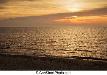 ατάραχα , όμορφος , δύση θαλασσογραφία , water.