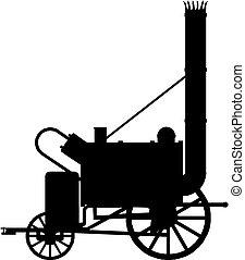 ατμομηχανή σιδηροδρόμου