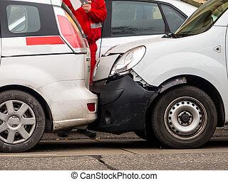 ατύχημα , δρόμοs