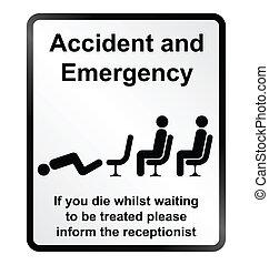 ατύχημα , επείγουσα ανάγκη , πληροφορία