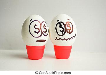 αυγά , γενική ιδέα , business., φόβος , startup.
