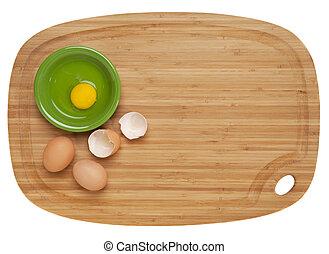 αυγά , μπαμπού , πίνακας