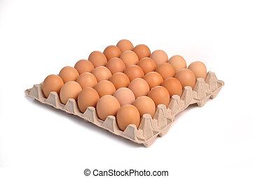 αυγά , τριάντα