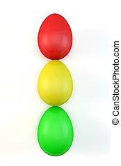 αυγά , φάναρι κυκλοφορίαs , γενική ιδέα