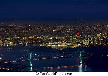 αυλόπορτα , γέφυρα , bc , vancouver , cityscape , εξέχουσα προσωπικότητα