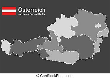 αυστρία , εξοχή , περίγραμμα