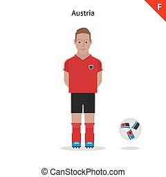 αυστρία , ποδόσφαιρο , kit.