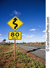 αυστραλία , δρόμος αναχωρώ