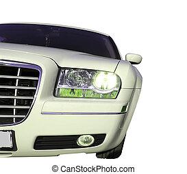 αυτοκίνητο , άσπρο , απομονωμένος