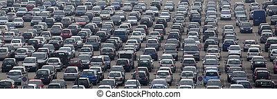αυτοκίνητο , αεροδρόμιο , πάρκινγκ