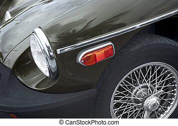 αυτοκίνητο , αμερικανός , άριστος , - , retro