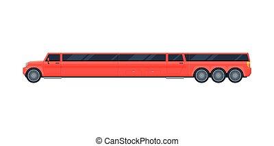 αυτοκίνητο , ασφάλιστρο , πολυτελής , εικόνα , βλέπω , διαμέρισμα , limo , μικροβιοφορέας , όχημα , κόκκινο , λιμουζίνα , πλευρά