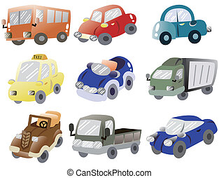 αυτοκίνητο , γελοιογραφία , εικόνα