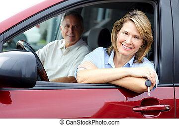 αυτοκίνητο , ζευγάρι , αρχαιότερος