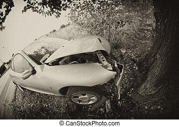 αυτοκίνητο , ιταλία , εναντίον , δέντρο
