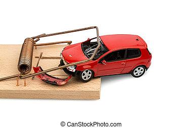 αυτοκίνητο , μοντέλο , ποντικοπαγίδα